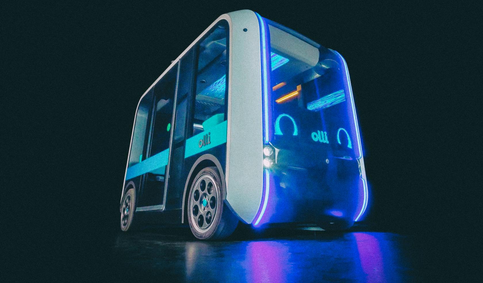 Представлен беспилотный автобус, напечатанный на 3D-принтере