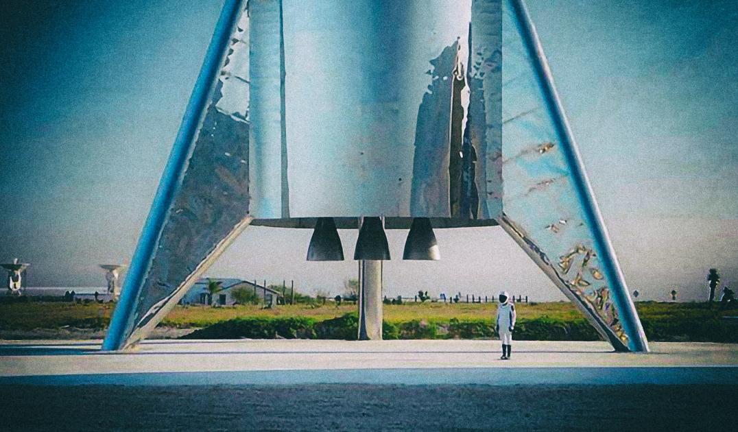 Илон Маск уже планирует гигантский космический корабль следующего поколения