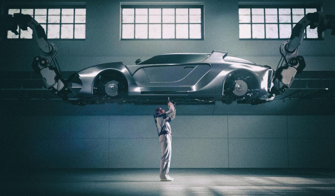 Hyundai представила легкий экзоскелет для работников промышленности