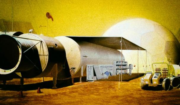 Астронавтам впервые удалось создать цемент в космосе