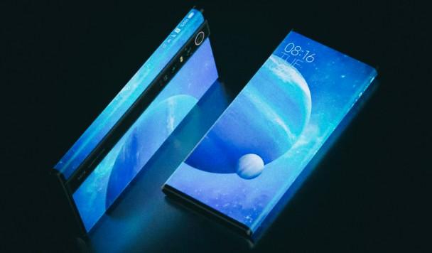 Xiaomi представила смартфон, со всех сторон обернутый в дисплей