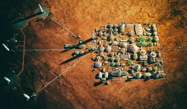 Как прокормить миллион человек на Марсе?