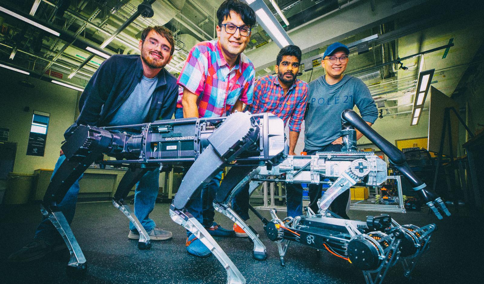 Разработан алгоритм, позволяющий роботам копировать движения животных