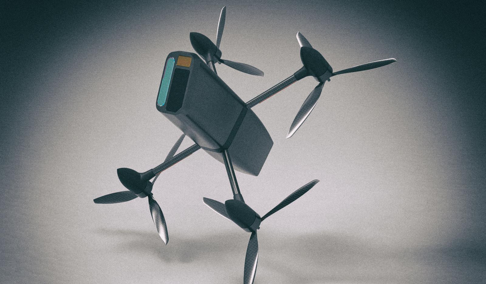 Разработан дрон-перехватчик для воздушного тарана других беспилотников