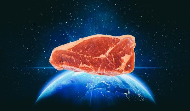 Астронавты впервые вырастили мясо в космосе