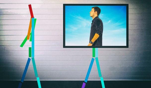 Новая технология радиовидения позволяет машине видеть людей сквозь стены