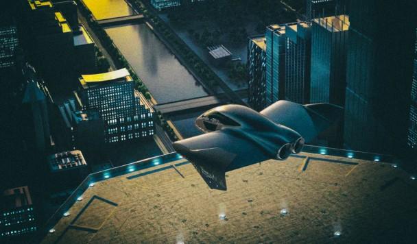 Porsche и Boeing объединяют усилия для разработки летающего городского авто