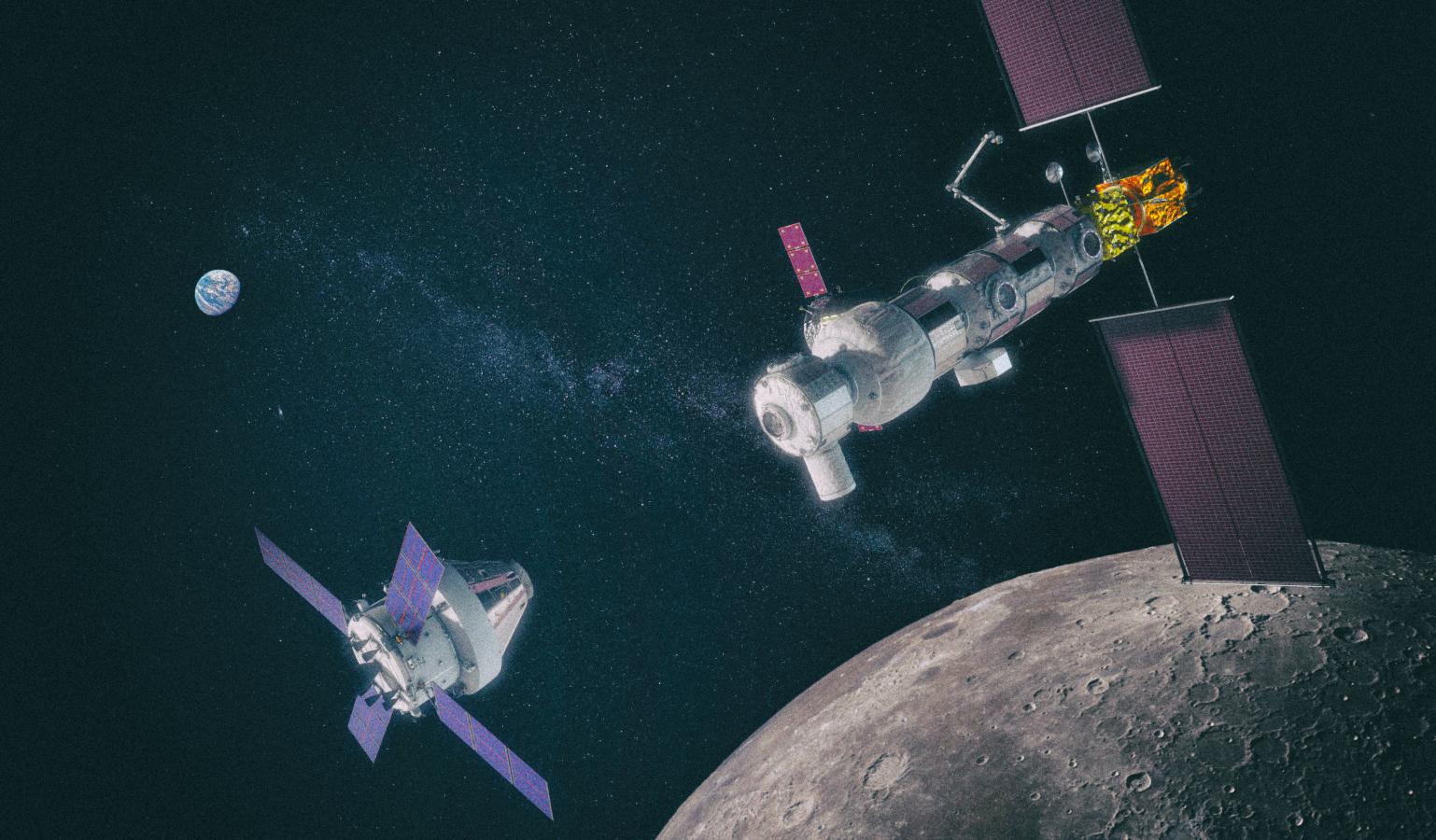 Япония поможет NASA с постройкой лунной станции