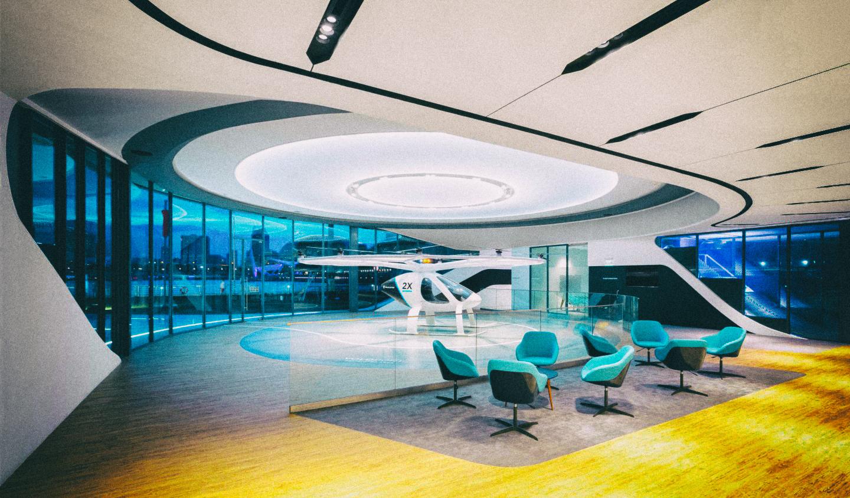 Volocopter представила прототип городского терминала воздушных такси