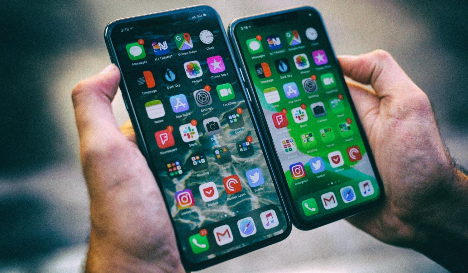 Темные схемы интерфейса реально экономят заряд батареи OLED-смартфонов