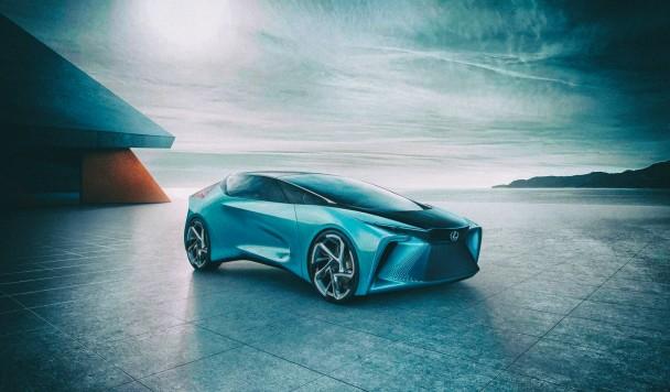 Lexus анонсировал свой первый футуристический электромобиль