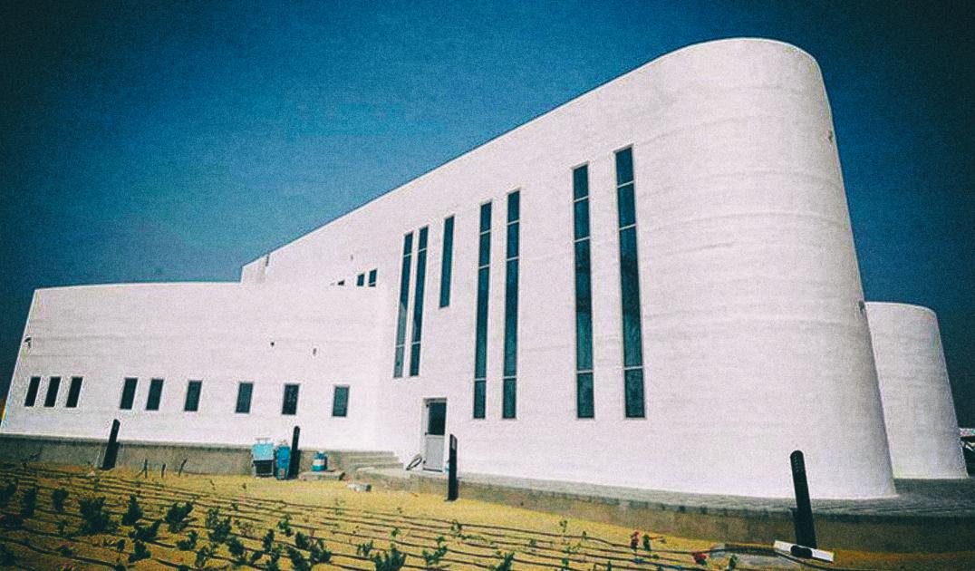 Представлено самое большое двухэтажное здание, напечатанное на 3D-принтере