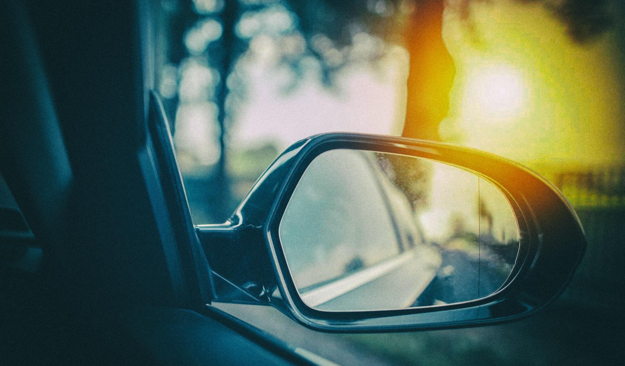 """Проблему """"слепых зон"""" в машине решили с помощью веб-камеры и проектора"""