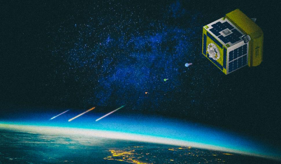 Разработан спутник для запуска искусственных метеоров