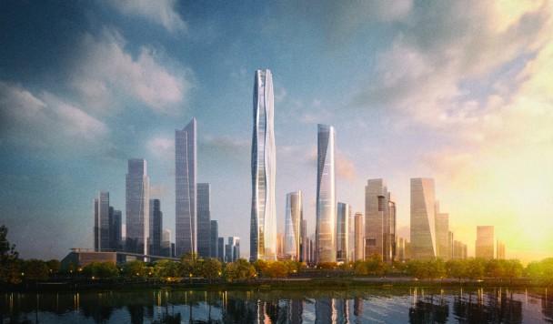Разработан дизайн сверхвысокого энергоэффективного небоскреба