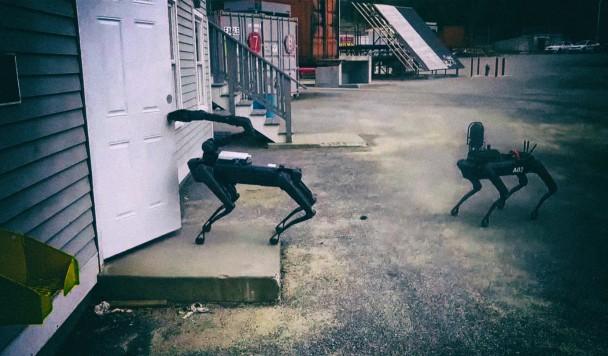 Американская полиция вооружается собаками-роботами