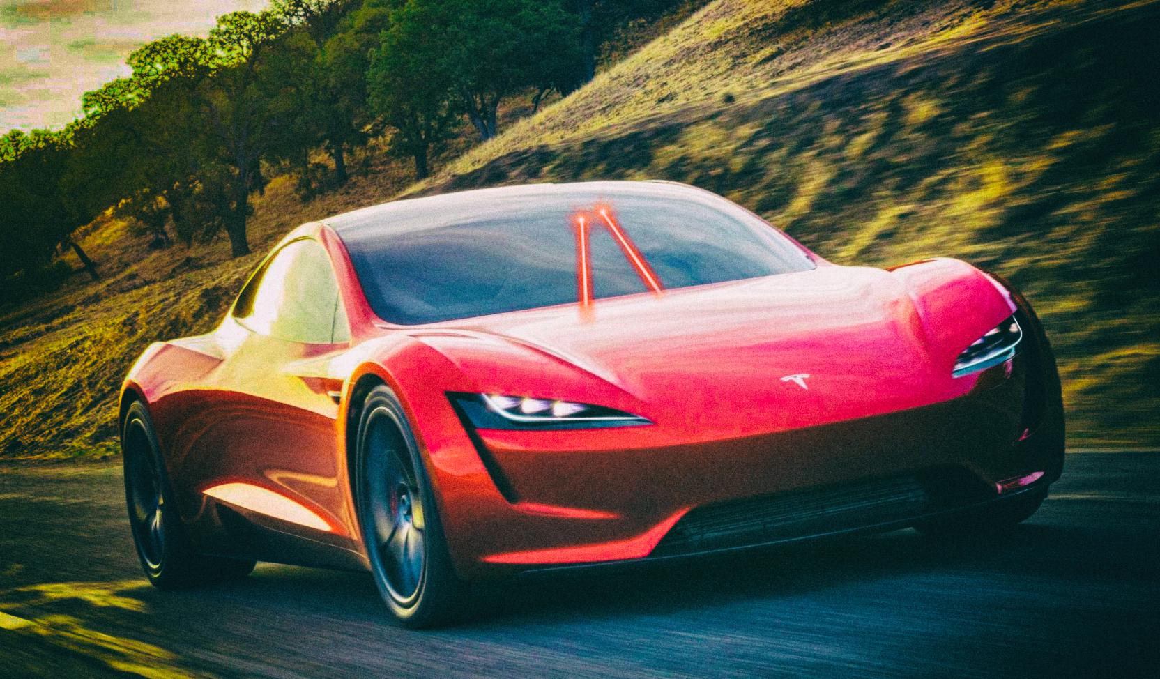 Tesla хочет заменить стеклоочистители автомобилей лазерами