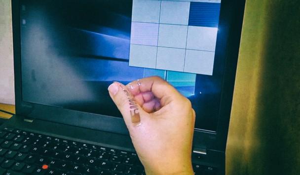 Разработан беспроводной манипулятор для ПК, который можно нанести на тело пользователя