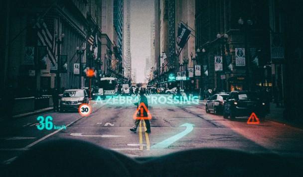 Новая технология позволяет превратить лобовое стекло автомобиля в огромный дисплей