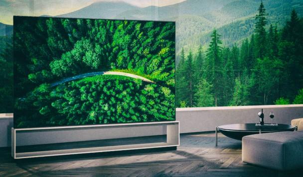 LG выпустил первые телевизоры с разрешением 8K
