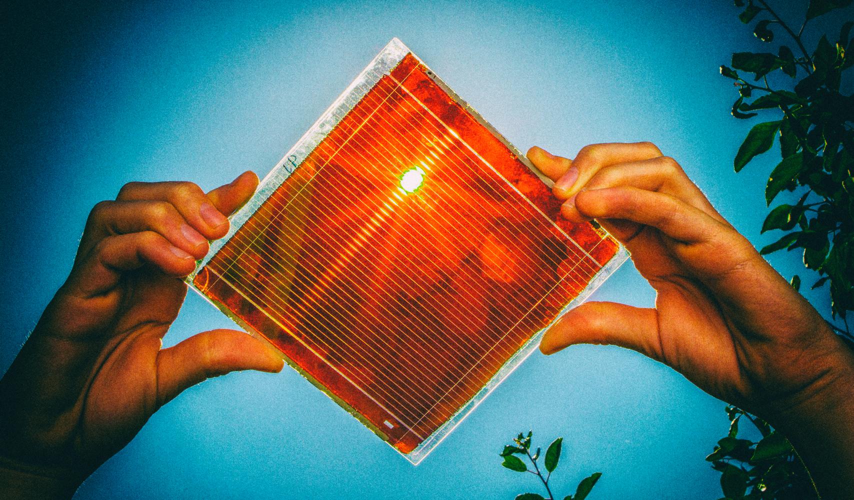 Разрабатываются солнечные панели, которые можно распылять из баллончика