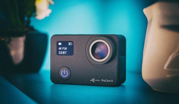Новогодние подарки на Rozetka: стартовали продажи новой экшн-камеры ProCam 8