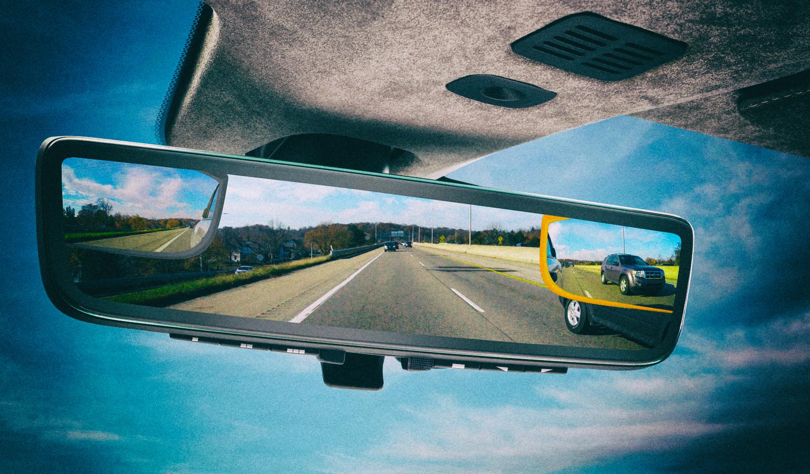 Aston Martin разработала зеркала заднего вида, транслирующие три видеопотока одновременно