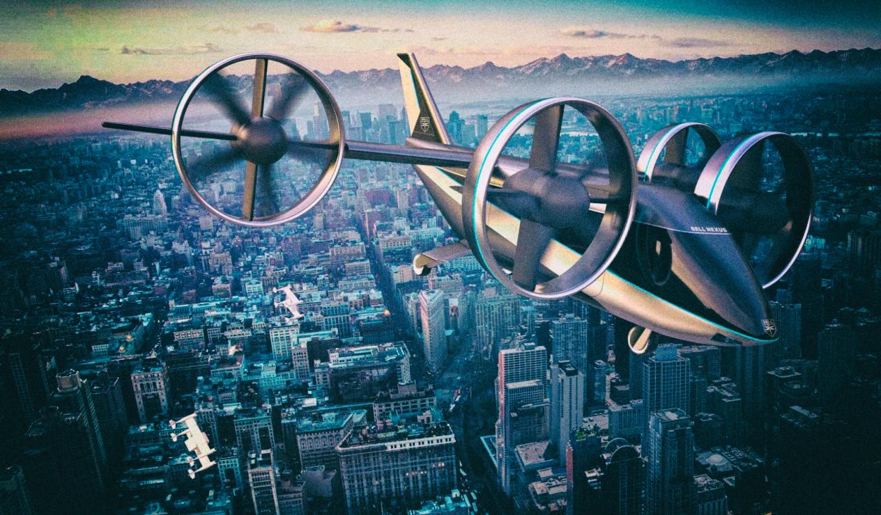 Bell представила улучшенную версию электрического летающего такси