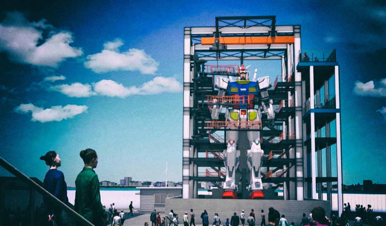 В Японии построят гигантского человекоподобного робота