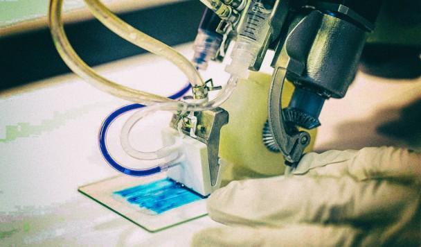 Представлен ручной принтер для ускоренной регенерации ожогов