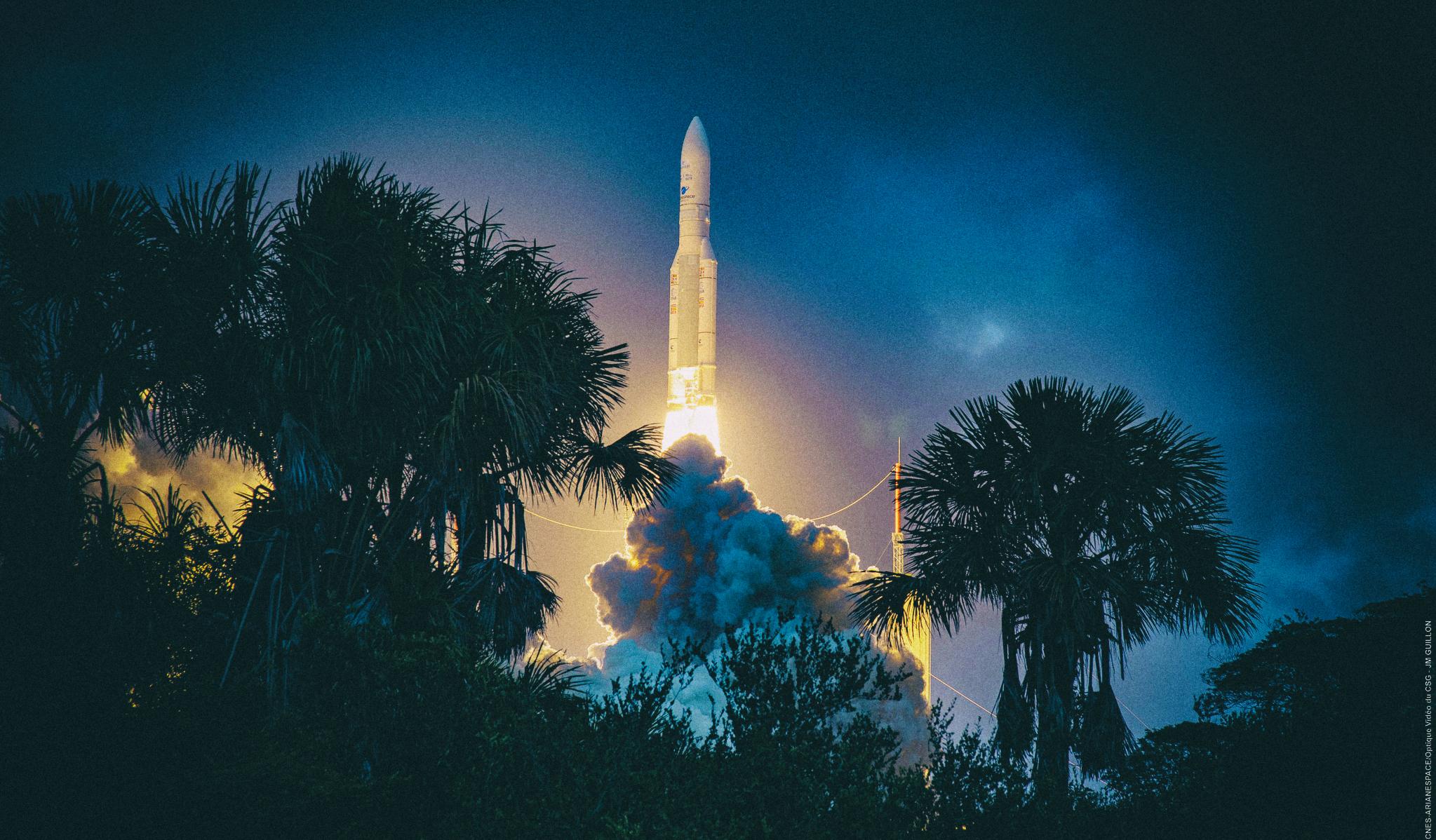 Лучшие космические фото января 2020