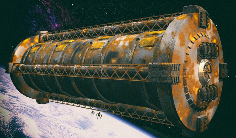 Ржавчина отлично блокирует космическую радиацию
