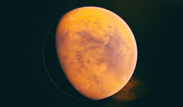 Сияние в ночном небе и другие загадочные явления Марса