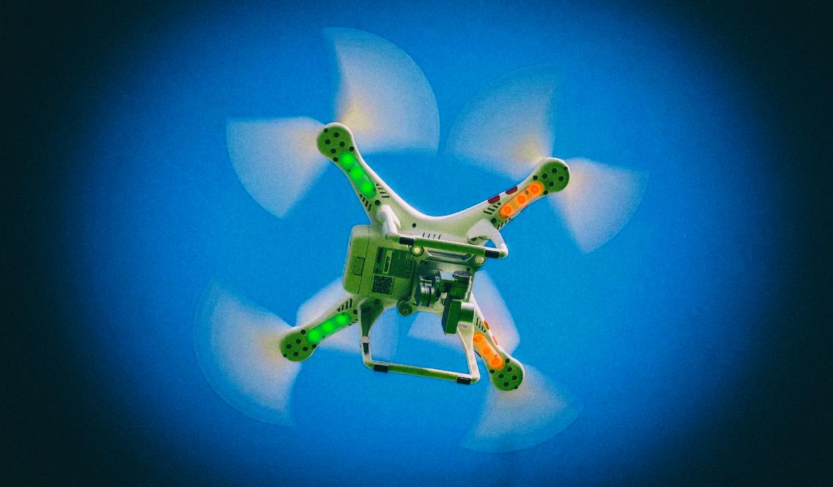"""""""Пандемические дроны"""" будут выявлять больных в толпе"""