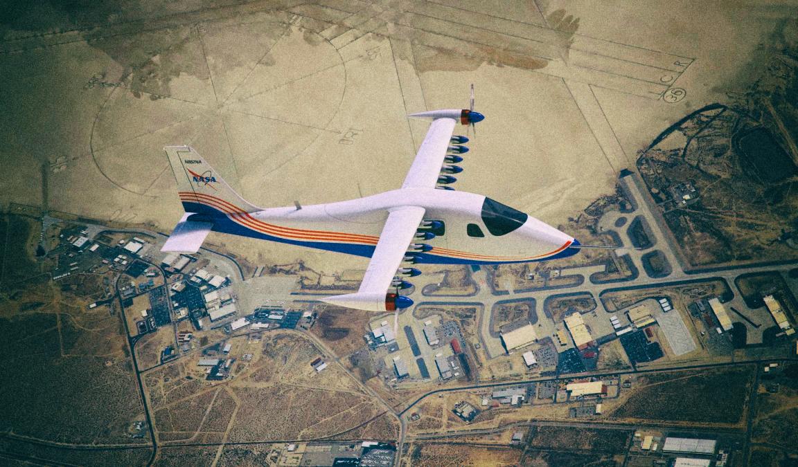 NASA показало окончательную версию электросамолета X-57 Maxwell