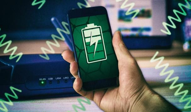 Графеновый аксессуар позволяет заряжать электронику от Wi-Fi
