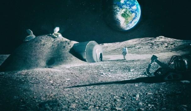 Астронавты будут использовать при постройке лунной базы собственную мочу