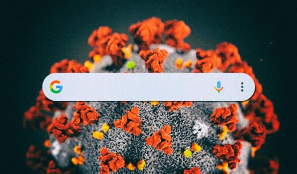 Коронавирус можно отслеживать по поисковым запросами в Google