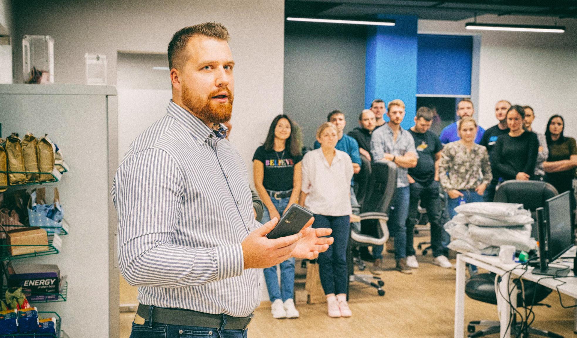 Как украинские IT-компании идут на дистанционную работу — опыт IT-бизнесмена Рафала Шиманского