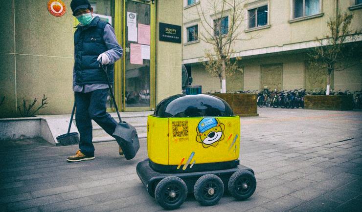 В мире стремительно растет спрос на роботизированную доставку