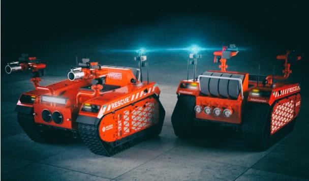 Робот-пожарный избавит людей от необходимости рисковать жизнью