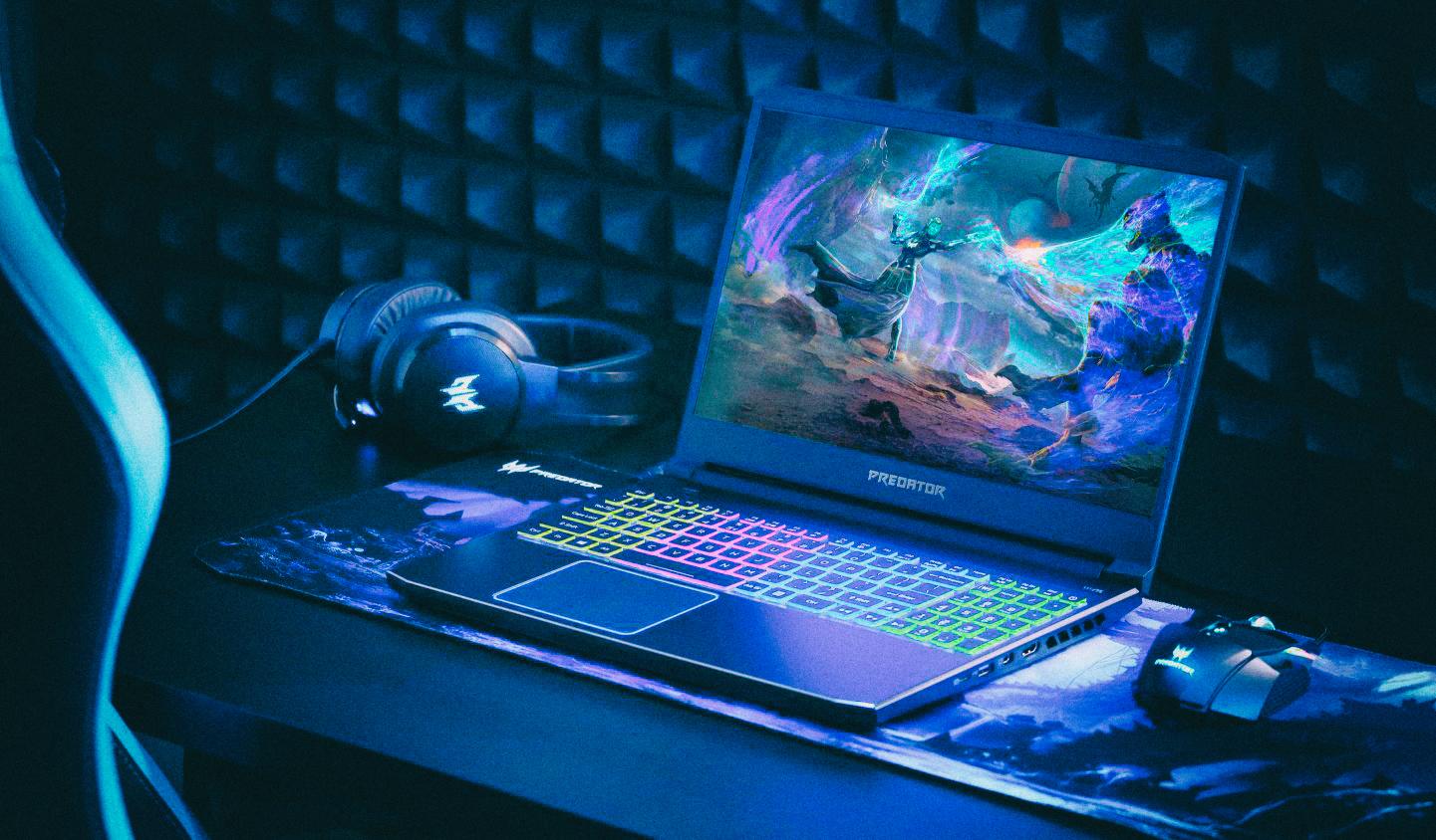 Ноутбуки Acer Predator – для самых захватывающих игр