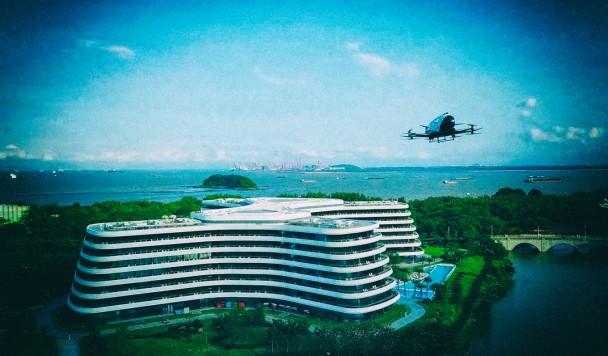 В Китае стартует первый в мире сервис электрического воздушного туризма