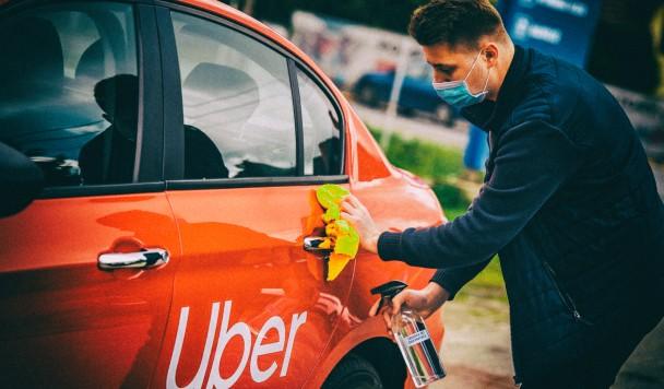 Uber запускает в Укриане функцию автоматического распознавания медицинских масок