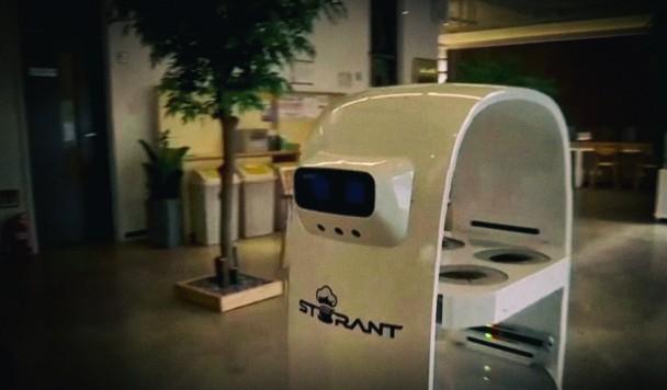 Запущено первое в мире с роботизированным бариста
