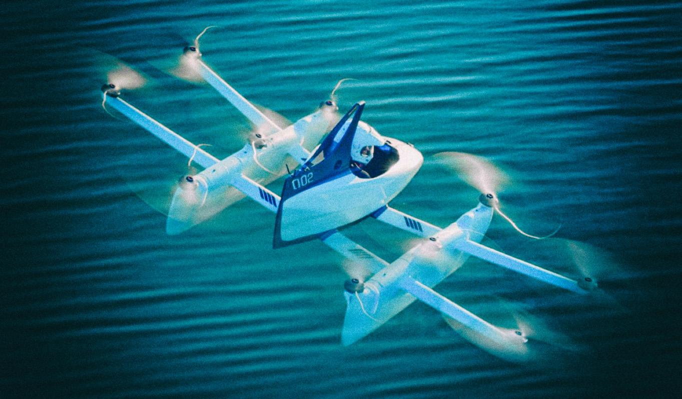 Стартап Kitty Hawk откажется от производства пассажирских мультикоптеров