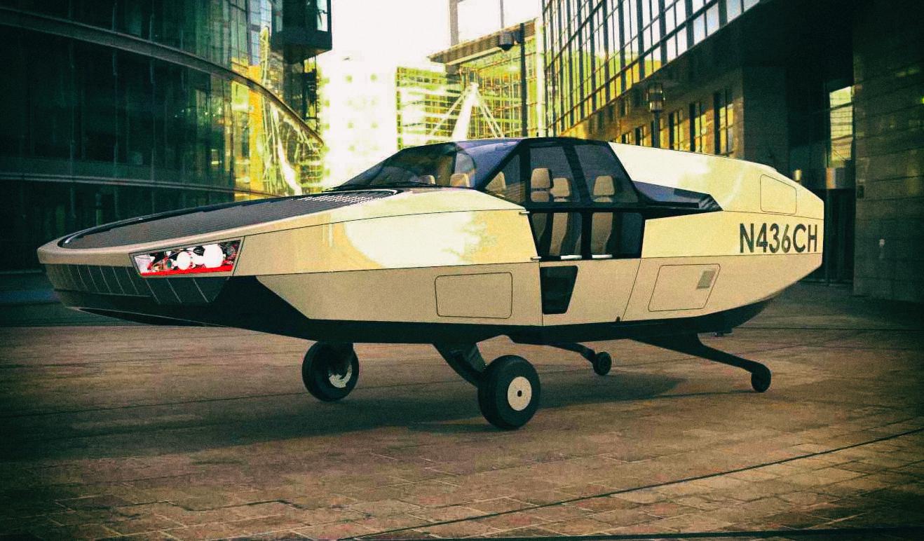 Анонсирован выход водородного летающего автомобиля