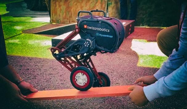 Робот с ногами-колесами может ходить и ездить одновременно