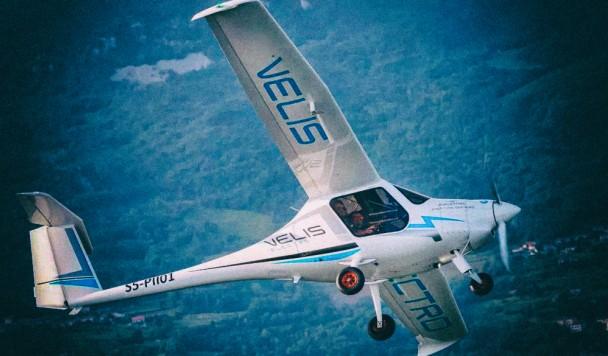 В Европе впервые сертифицирован электрический самолет