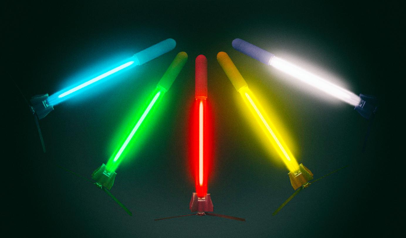Светодиодные дроны-ракеты могут стать безопасной заменой фейерверкам